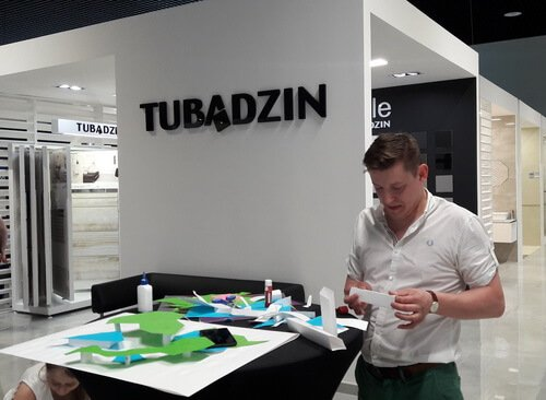 Tubadzin Design Days in Kyiv. Емец Константин