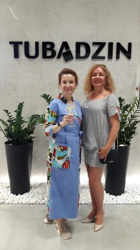 Tubadzin Design Days in Kyiv. Ольга Цвиль и Катерина Санина