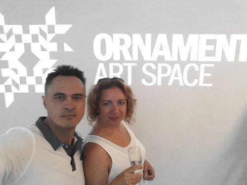 Презентация White trend от Oikos. Виктор и Ольга Цвиль в Art Space.
