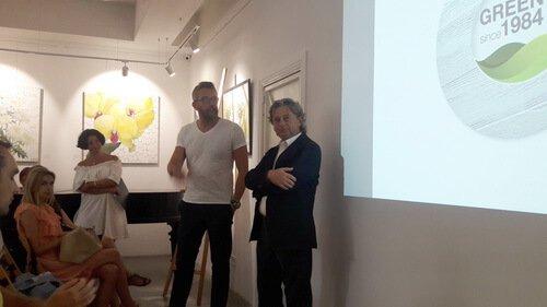 Презентация White trend от Oikos. Президент компании Oikos