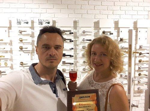 Виктор и Ольга Цвиль на конкурсе Maniglia Nuova 2018