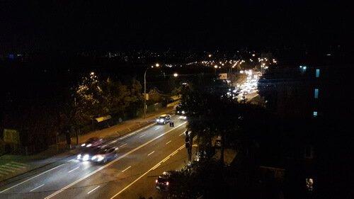 Метроном на крыше ZinCo. Ночной Киев