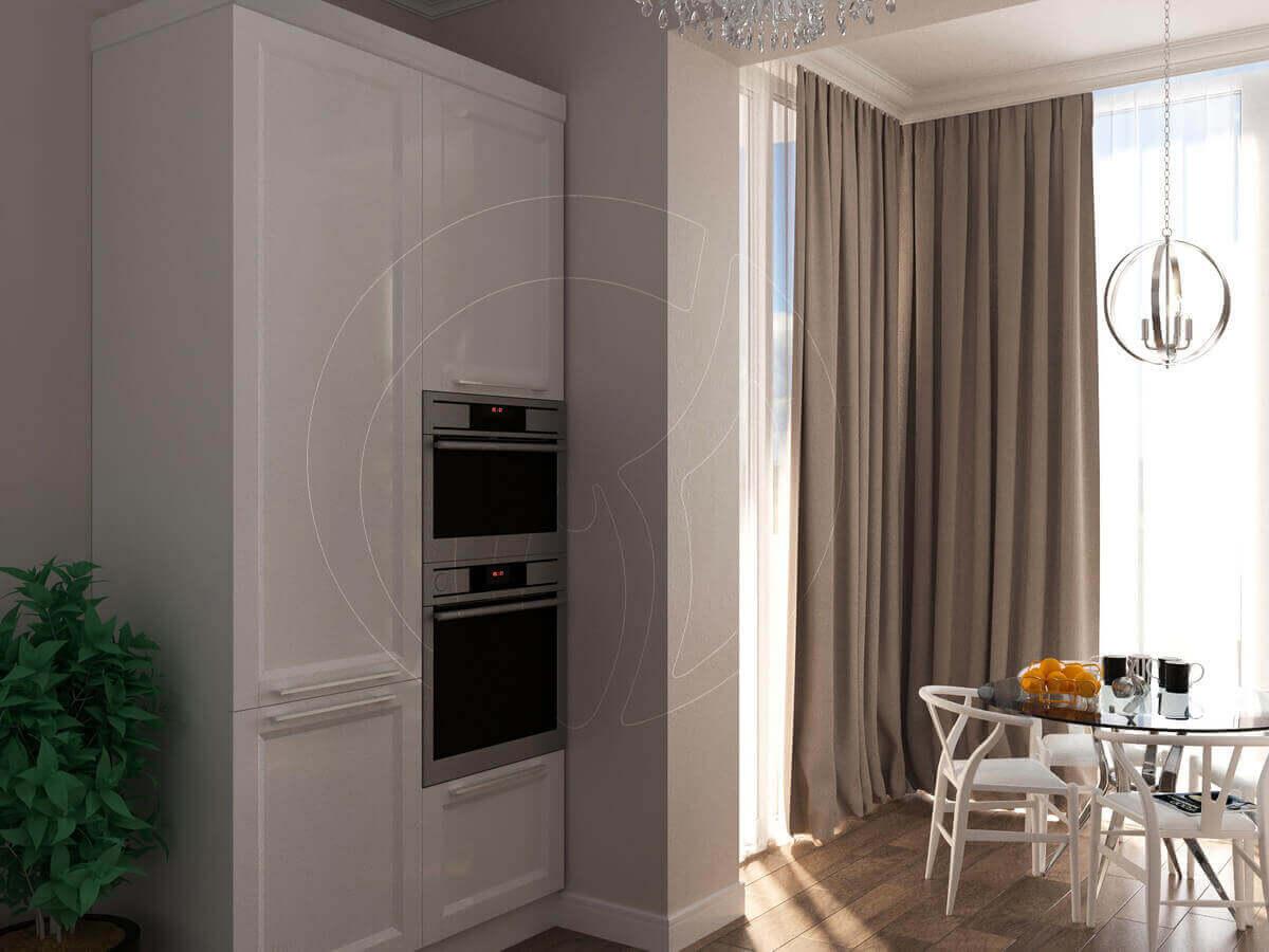 """Квартира в стиле """"современная классика"""". Кухня и бытовая техника"""