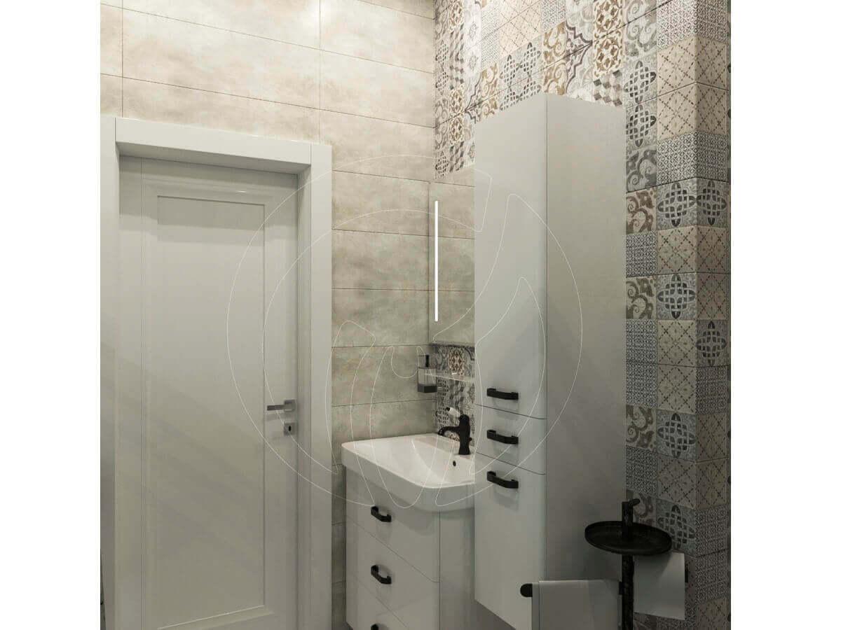 """Квартира в стиле """"современная классика"""". Санузел. Мебель для ванной"""
