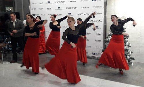 Испанское рождество в Миллениум концепт 2018_ Зажигательные испанские танцы