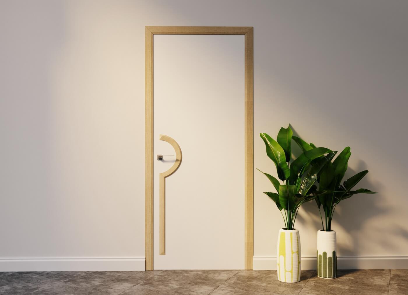 Предметный дизайн_Дверь Wedge 3_1