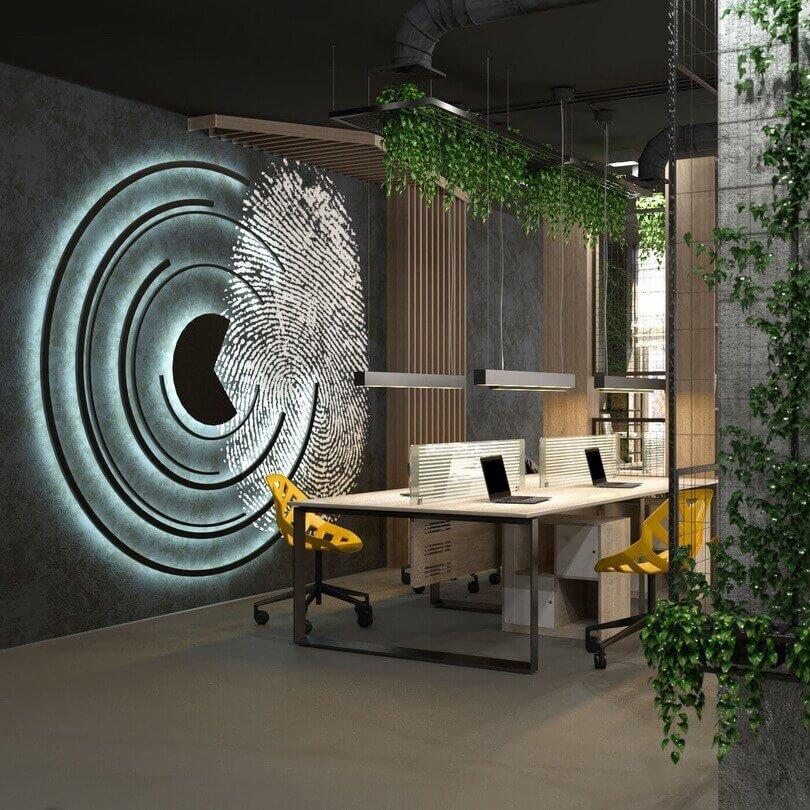Офис в стиле LOFT для IT- компании