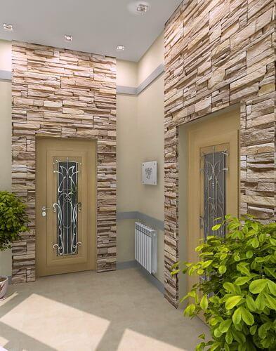 Камень в современном интерьере. Природный камень в качестве отделки стен