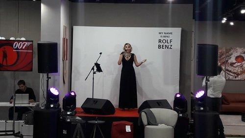 Открытие флагманского салона Rolf Benz. Живое исполнение саундтреков бондианы