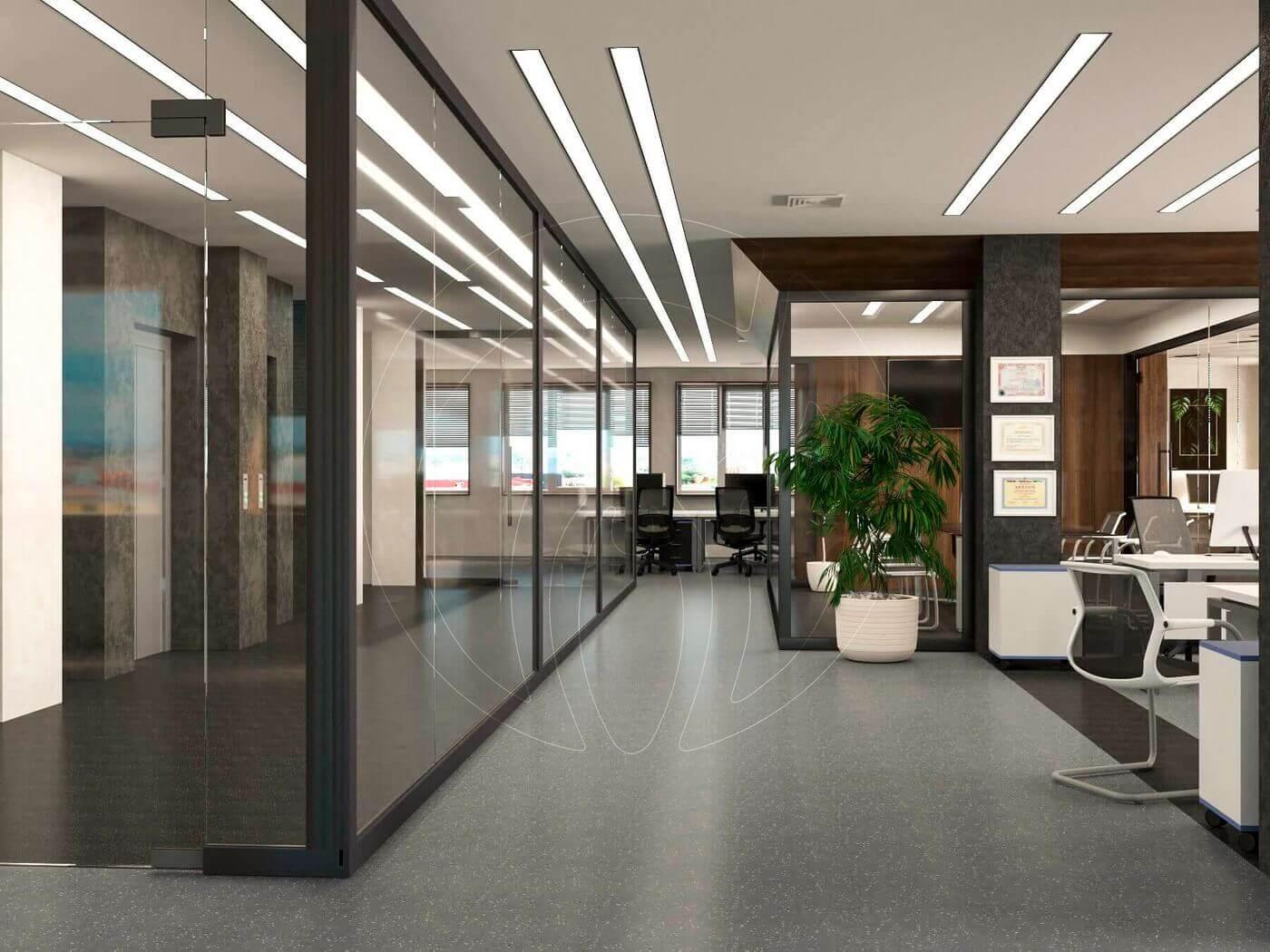 Дизайн офиса в современном стиле_1