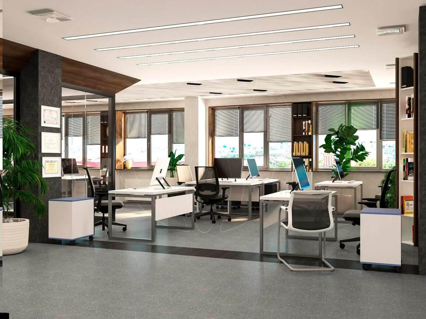 Дизайн офиса в современном стиле_2