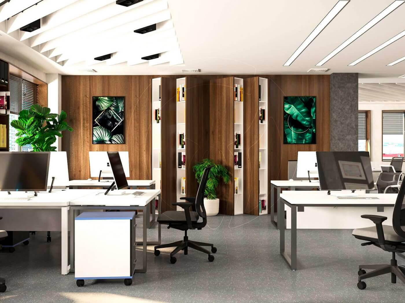Дизайн офиса в современном стиле_3