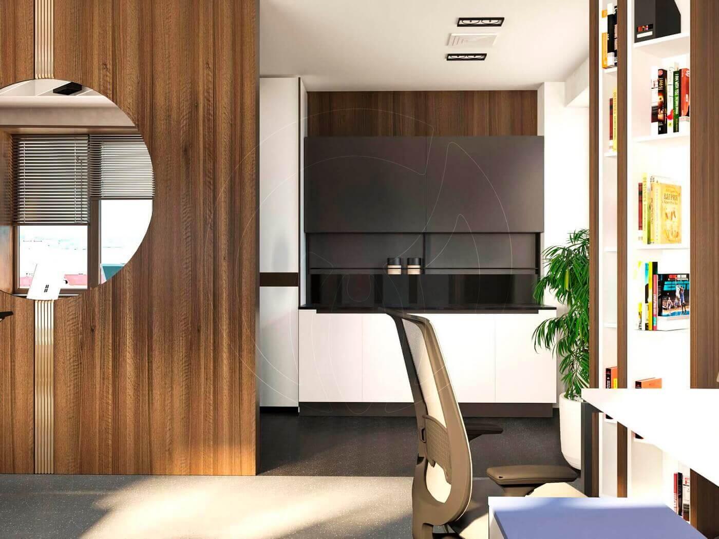 Дизайн офиса в современном стиле_7