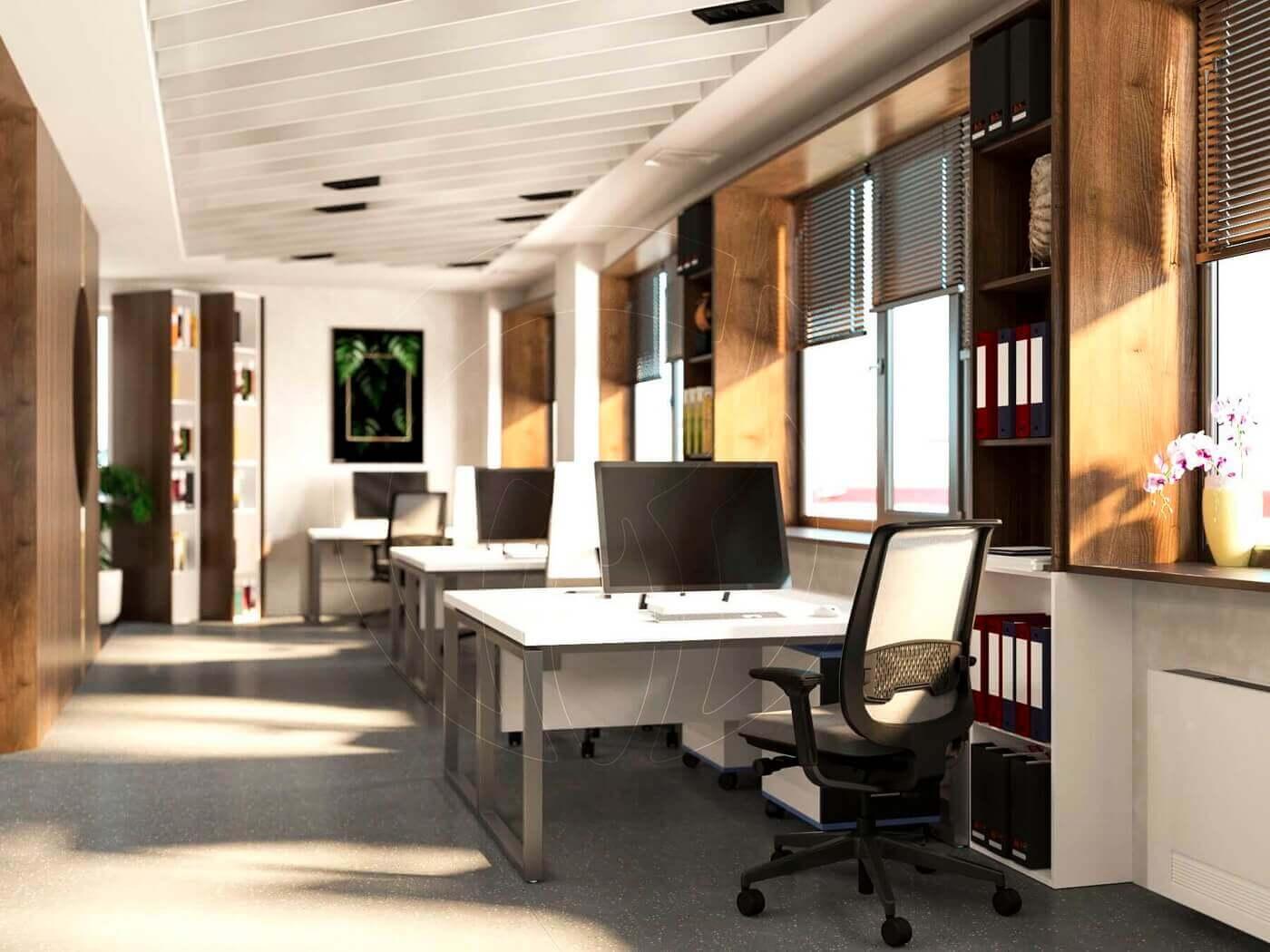 Дизайн офиса в современном стиле_8