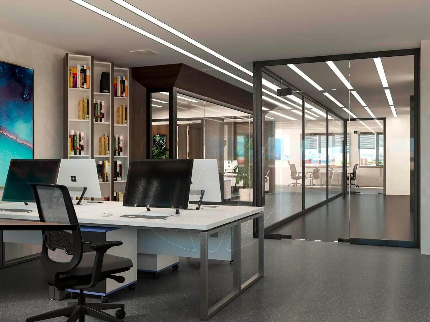 Дизайн офиса в современном стиле_9