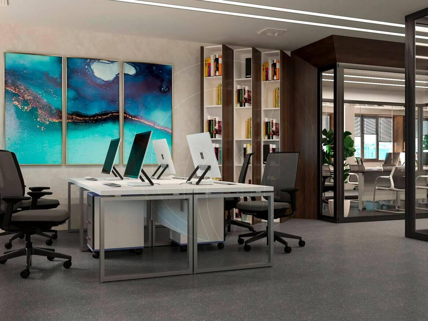Дизайн офиса в современном стиле_10