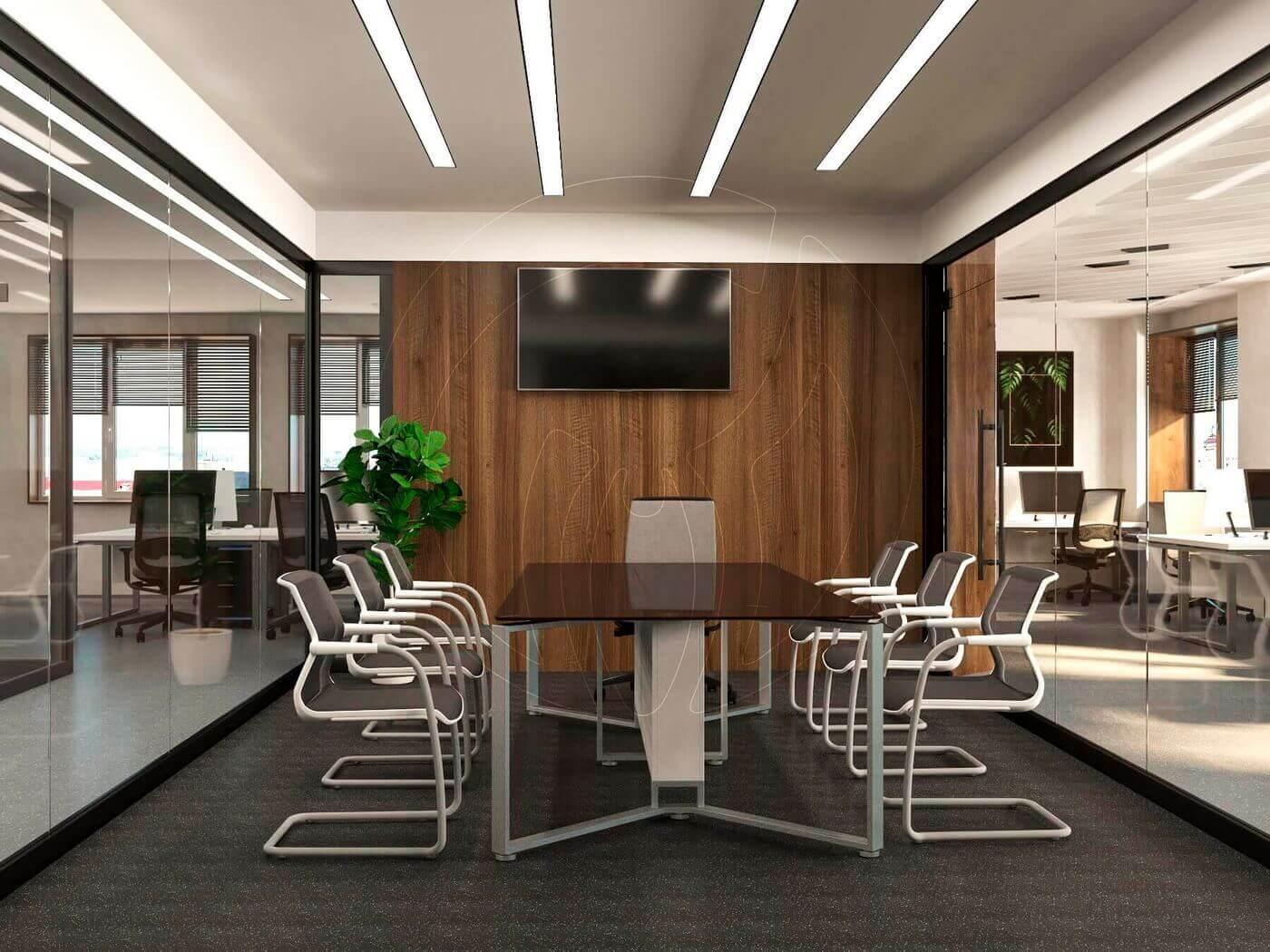 Дизайн офиса в современном стиле_11