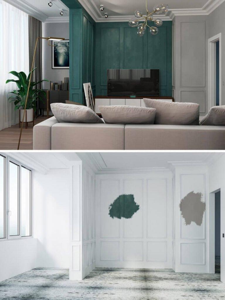 Образцы цвета (выкраски). Проблема контраста