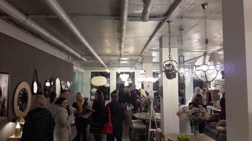 Открытие нового мебельного шоу-рума Gallery Home. Помещение шоу-рума