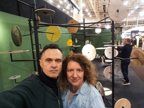 Выставка interior mebli 2020. Виктор и Ольга Цвиль