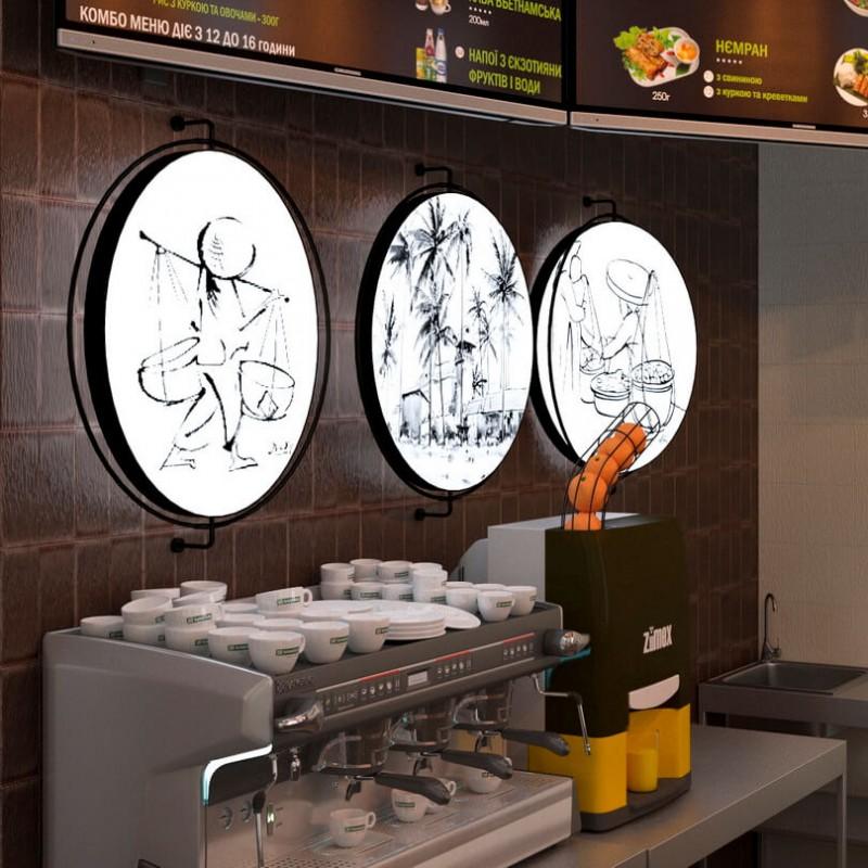 Ресторан fast food NEM