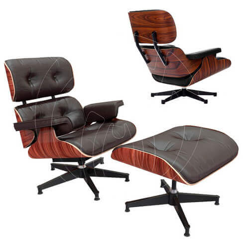 Кресло Eames Style Lounge Chair
